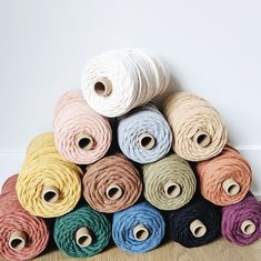 Wow picks! small 5mm cotton string, recycled macrame cord, rope, macrame twine, macrame, cotton rope, cotton string, cord, macrame rope, macrame string at $20.99 Choose your wows. 🐕 #MacrameCord #CottonString #MacrameKit #MacramePatterns #CottonCord #MacrameBeginner #macrame #CottonRope #MacrameTutorial #MacrameDiy Macrame Cord, Micro Macrame, Cotton String, Cotton Rope, Recycling Process, Macrame Supplies, Macrame Tutorial, Macrame Patterns, Twine