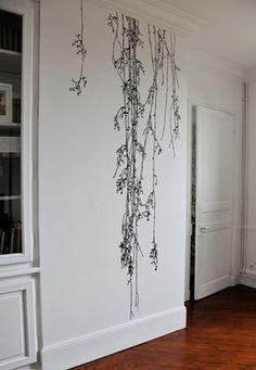 this Charming home - http://www.thischarminghome.com/algunas-maneras-originales-de-pintar-una-pared/