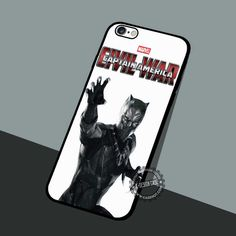 Black Panther Movie - iPhone 7 6 5 SE Cases & Covers #movie #superheroes
