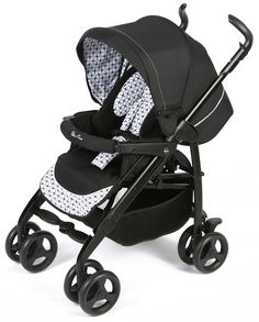 Silver Cross 3D Pram and Pushchair Travel System - Monochrome *Package Exclusive to Mothercare*
