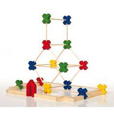 Construcción Texo 65 piezas | Guidecraft | Juguetes | Dideco