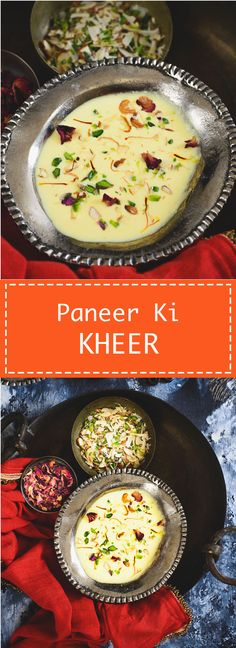 Paneer Ki Kheer or Indian Cottage Cheese Pudding is a simple to make Indian dessert. Make it for the up coming festivals. Food photography and styling by Neha Mathur