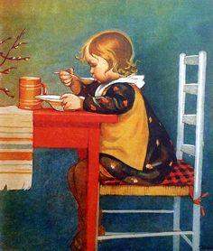 Winter Illustration, Illustration Art, Sara Kay, Black And White Pictures, Christmas Art, Vintage Cards, Vintage Children, Vintage Postcards, Lovers Art