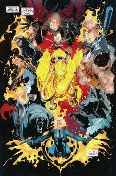 Ghost Riders: The Hell-Fueled History of Marvel's Several Spirits of Vengeance! We list everyone and everything ever possessed of the Spirit of Vengeance! Marvel Comics Art, Manga Comics, Marvel Heroes, Spirit Of Vengeance, Marvel Comic Character, Manga Pages, Comic Page, Fantasy Inspiration, Ghost Rider