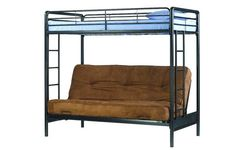 Dorel Home Products Twin Over Full Futon Bunk Bed
