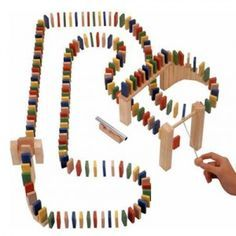Falling Dominoes Cause And Effect Pinterest - Video dominoes falling reverse simply mesmerizing