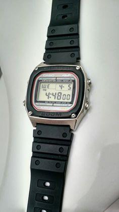 Casio DW-1000 Mirror Casio Vintage Watch, Casio Watch, Vintage Watches, Nerd Chic, Digital Watch, Seiko, Clocks, Watches For Men, Desktop