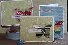 Scrapbook & Cards Today - using ribbon on cards in creative ways, pinterest gallery