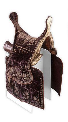 Tatar saddle. Turkenbeute Karlsruhe museum