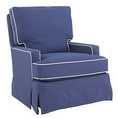 Land Of Nod Blue Glider Love The Color And Looks Super Comfy