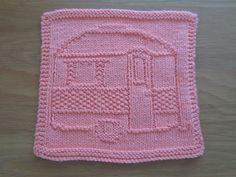 Ravelry: My Camper Dishcloth pattern by Christel Bayer
