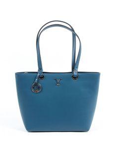 ca4a1c736be3 V 1969 Italia Womens Handbag V009-S RUGA PETROLIO  V 1969 Italia Womens  Handbag