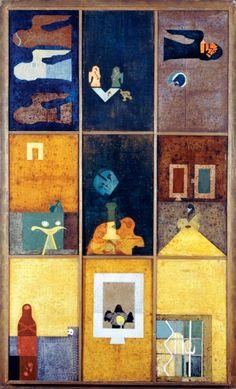Bálint Endre (1914-1986)  Triptichon I-III, 1974