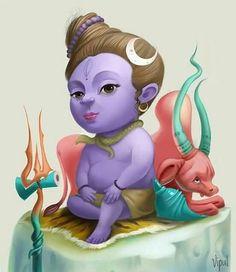 Lord little Shiva. Arte Shiva, Mahakal Shiva, Shiva Kunst, Photoshop, Shiva Angry, Lord Murugan Wallpapers, Shiva Photos, Avatar, Lord Shiva Hd Images