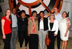 #mandela #eyecare Mandela family visit the VISION Optometrist store