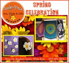 Swing Into Spring with these new specials. We're celebrating Spring at Amber Africa, from sarongs to frangipani hairclips and so much more come and visit our store to see what we have to offer. #amberafrica #springcelebration #sarongs