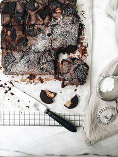 ... delicious oreo fudge brownie ...
