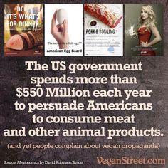 brainwashing for bucks; why #vegan