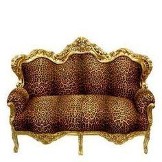 Swanky Hotel Zaza style Hand Made French Baroque Furniture <3