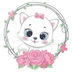 Cute Panda Wallpaper, Baby Animals, Cute Animals, Baby Animal Drawings, Cute Baby Cats, Baby Raccoon, Panda Wallpapers, Cute Love Pictures, Baby Icon