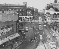 Town Road, Hanley in Old Pictures, Old Photos, Local History, Family History, Old Pottery, High Street Shops, Old Street, Wonderful Picture, Stoke On Trent
