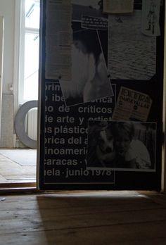 carola kastman,collage on door,