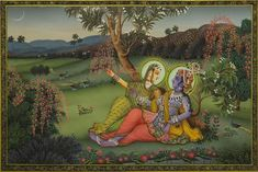 Pichwai Painting 'Radha Krishna', available for sale at Artisera Peacock Painting, Cow Painting, Music Painting, Pichwai Paintings, Different Seasons, Acrylic Sheets, Limited Edition Prints, Indian Art, Deities