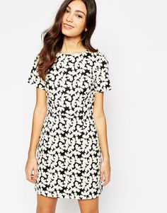 42113fd961b Oasis Butterfly Shift Dress at asos.com