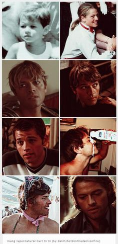 [GIFSET] Misha Collins ~ Young Supernatural Cast 2/10 (by…