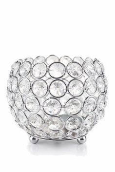 """Our awesome new line of Silver and Crystal Candle Holders is sure to turn heads! This """"""""Prestige"""""""" silver and crystal goblet candle holder is wide by tall and comes with a removable votive hold Silver Candle Holders, Candle Holders Wedding, Tealight Candle Holders, Votive Candles, Tea Light Candles, Tea Lights, Door Beads, Hanging Candles, Adidas"""