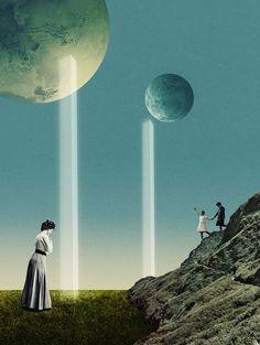 Art & Illustrations by Julien Pacaud | Abduzeedo Design Inspiration