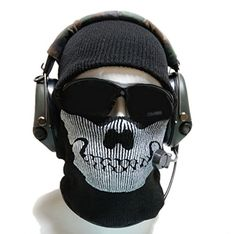 Classic Ghost Skull Face Mask  Hat Terror Wry Mask Grimace for Halloween Cosplay -- ** AMAZON BEST BUY -affiliate link**