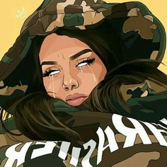 MOOD kush weed cannabis nugs bud marijuana maryjane dank inweedwetrust weedsnob weedhumor weedsociety cannababes stonerchicks redeyes itslit stupidlit h dabs wax honey sauce torch mylungshurt stonerhumor cannapeop Black Love Art, Black Girl Art, Pop Art Girl, Arte Dope, Dope Art, Tumblr Drawings, Art Drawings, Dope Cartoons, Dope Cartoon Art