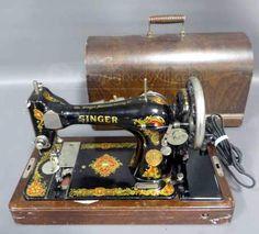 1925 Original Singer Sewing Machine 014