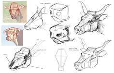 Cow head Jon Kuo Art
