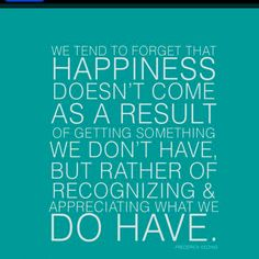 Positive thought for the day