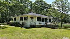 56 Brander Pky - Shy two acre waterfront property in silver beach on shelter island. Two bedroom, two bath home with water views from first floor. Sweeping, unobstructed southwest views to jessup neck and peconic bay. Fireplace, wood floors, deck. Direct deeded beach access. Boat ramp nearby. Preserve as is or build out.