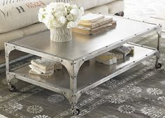 Welded Iron Table - Horchow