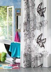 showercurtain by Vallila  Vallila Interior's curtain/fabric 'MonAmour'