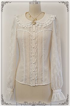 RDL: Maybe Cheval de Bois ~Margaret~ blouse