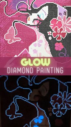 Fun glow diamond painting unboxing and demo of Craft-Ease Harmonie Glow Diamond Painting Kit. Kit comes with everything needed to create a crystalline diamond painting. Use my affiliate link and special discount code for 20% off. #diamondpainting #diamondart #gemart #crafting #giftidea #teencraft #arttherapy