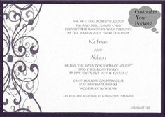 Kathrine and Nelson #WeddingInvitation @foreverfriends_  created! #White #Shimmer Top and #Raisin Bottom #Wedding http://foreverfriendsfinestationeryandfavors.com