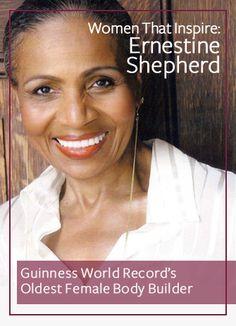 Women That Inspire: Ernestine Shepherd
