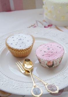 Fleuriste mignon クレイカップケーキ 体験レッスンサンプル