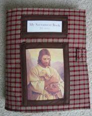 Best quiet book for sacrament meeting I've ever seen!