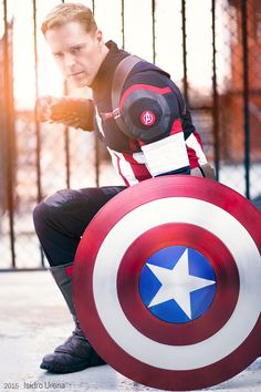 Captain America Cosplay | Photo by Isidro Urena