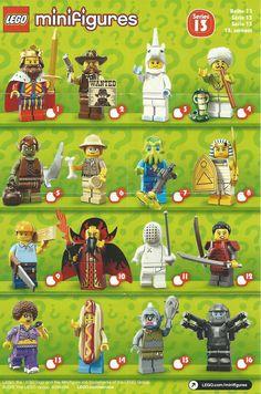 Personaggi LEGO MINIFIGURES serie 13