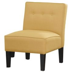 Pompano Accent Chair  in Lemon