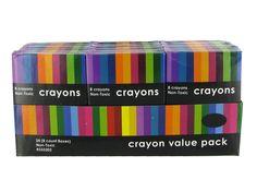 Crayon Value Pack at hobby lobby