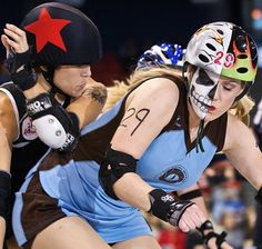 Never Skate With Scissors, And Other Advice For Surviving Roller Derby